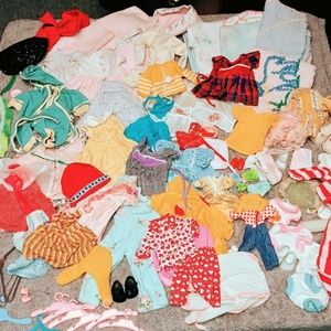 Vintage Doll Clothes 50s 60s 70s